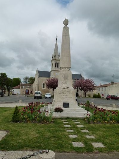 War Memorial Aigrefeuille-d'Aunis
