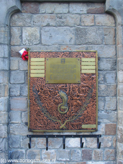 Commemorative Plaque 1st Polish Armored Division