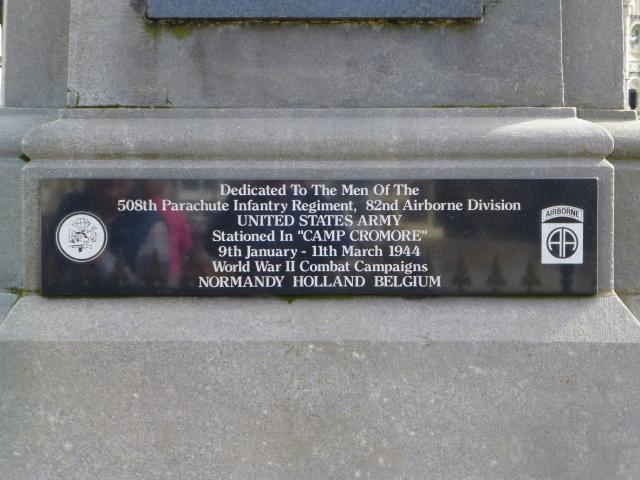 Monument 508th Parachute Regiment
