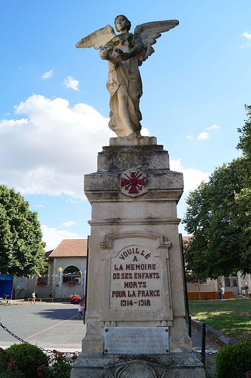 War Memorial Vouillé-les-Marais