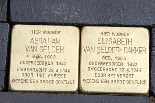 Stolpersteine Veldweg 17