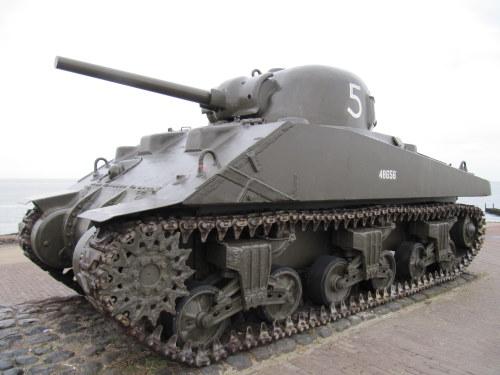 M4A4 Sherman Tank Westkapelle