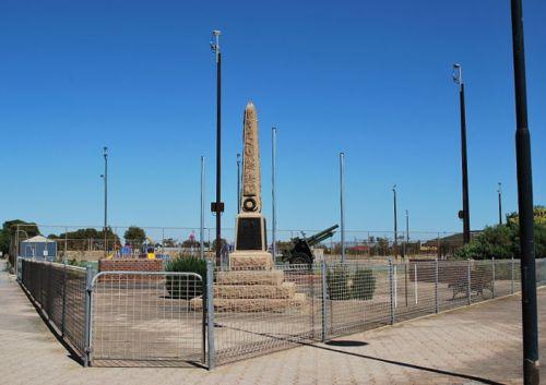 War Memorial Edithburgh