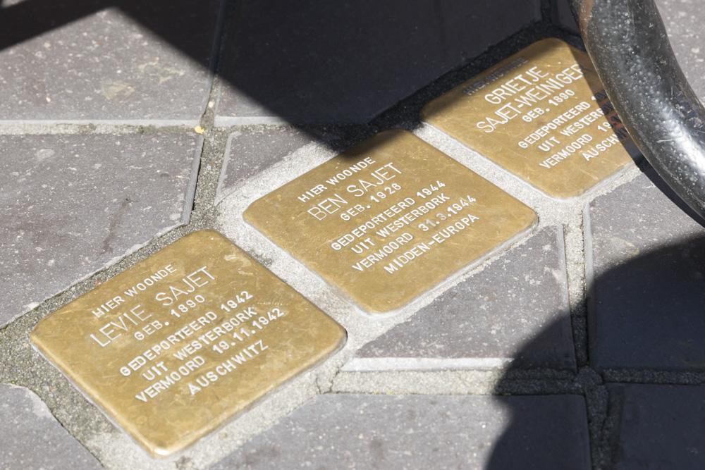 Stumbling Stones Berkelstraat 32