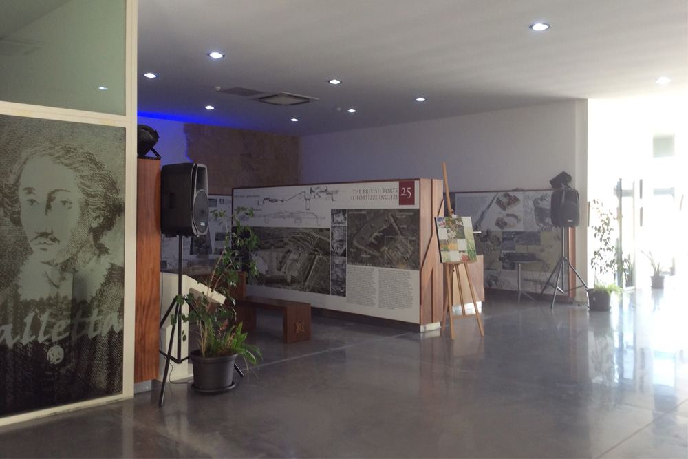 The Fortress Builders - Fortification Interpretation Centre