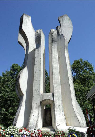 Monument 'Sisak' Partizanen Detachement