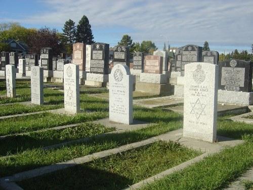 Commonwealth War Graves Calgary Jewish Cemetery