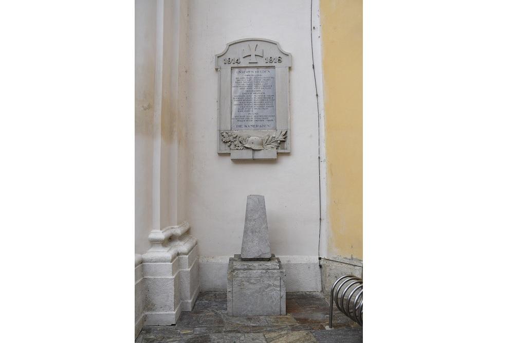 Commemorative Plaque Ehrenhausen