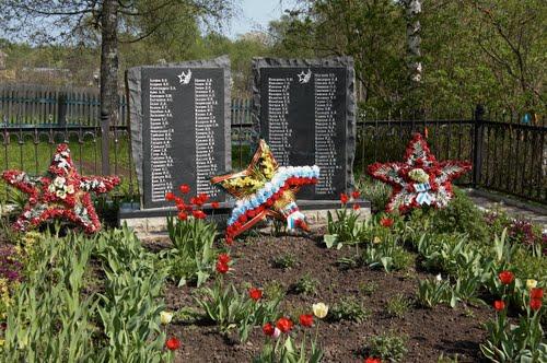 Mass Grave Soviet Soldiers Kamenskoye