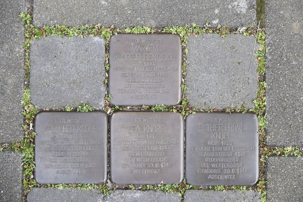 Stolpersteine J.C. van Wessemstraat 11