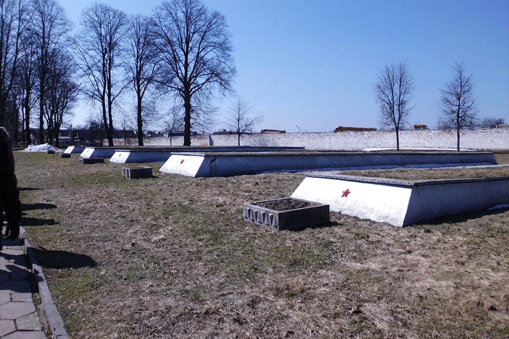 Sovjet Oorlogsgraven Garnizoensbegraafplaats Grodno