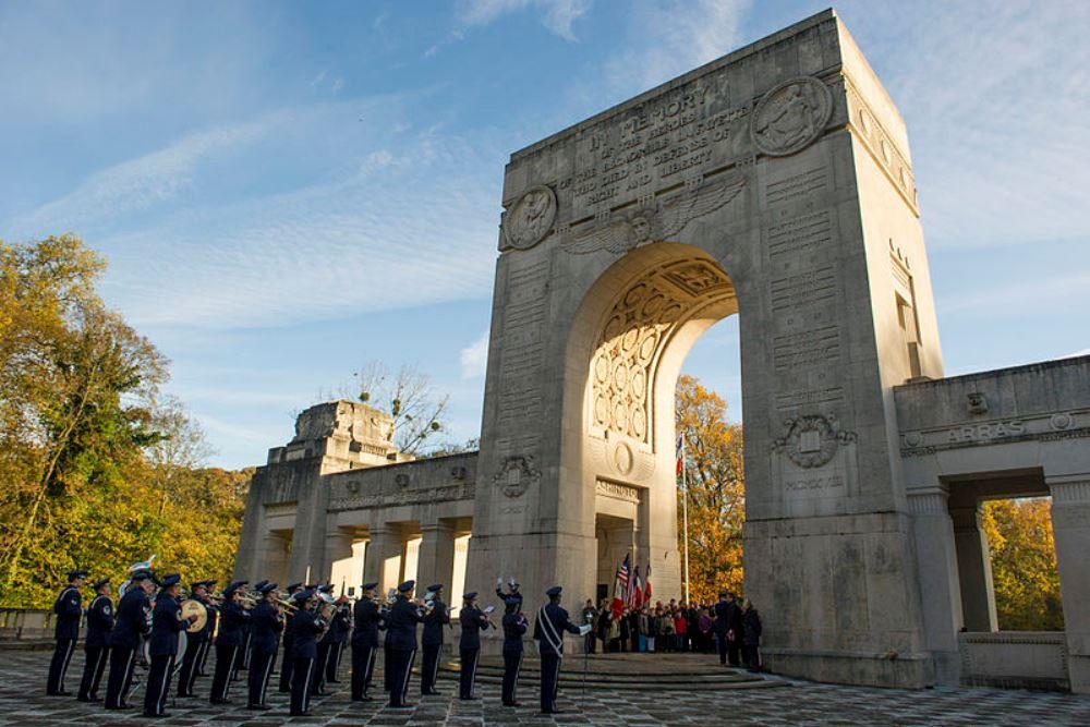 Memorial & Crypt Lafayette Escadrille