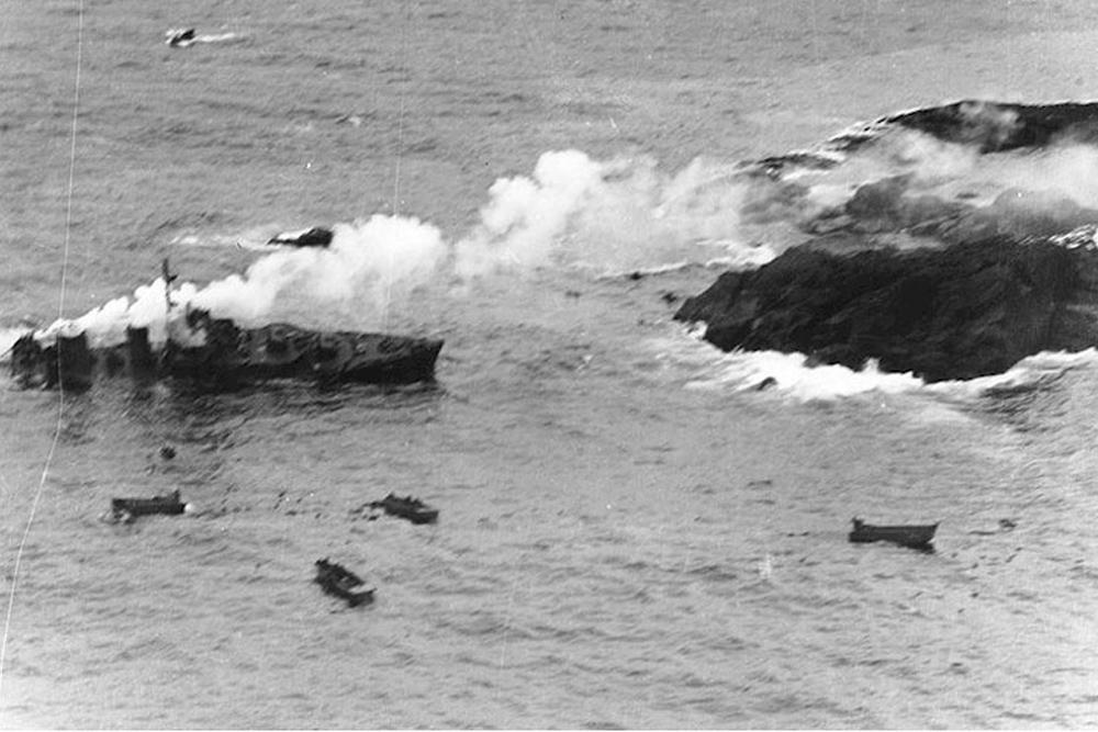 Shipwreck U.S.S. USS Worden (DD-352)