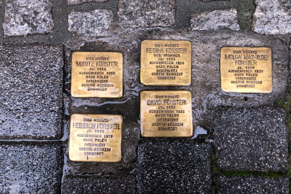 Stumbling Stones Mauergasse 14