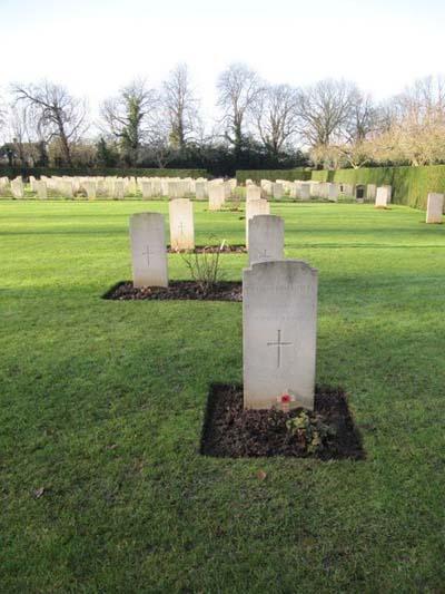 Italian War Graves Oxford-Botley