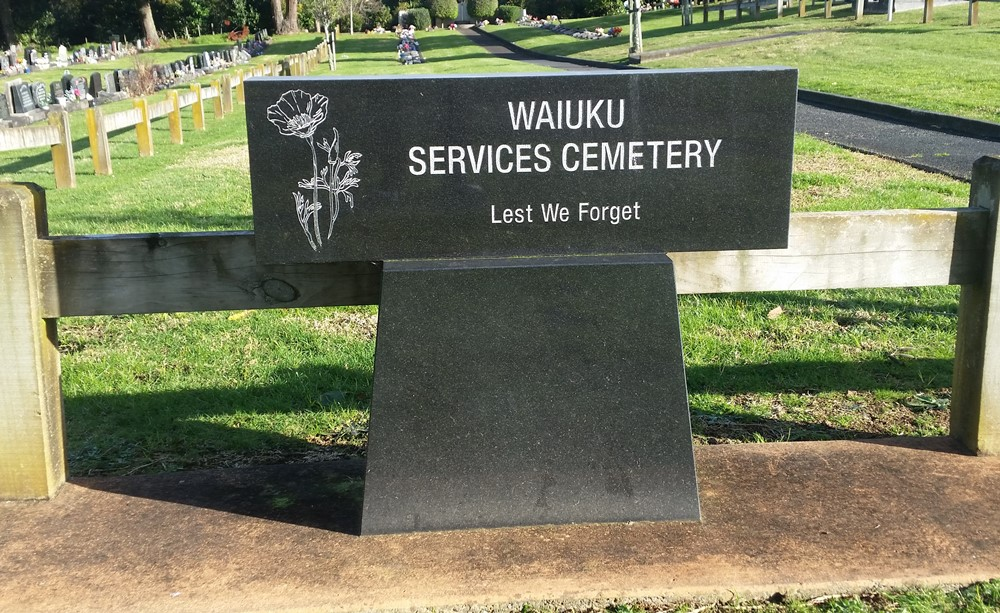 Commonwealth War Graves Waiuku Public Cemetery