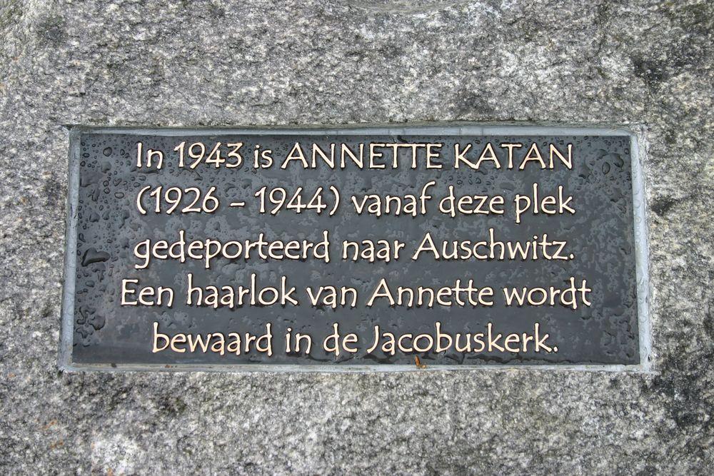 Gedenksteen Annette Katan