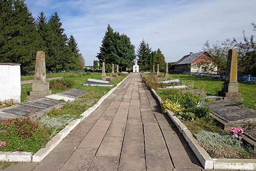 Soviet War Cemetery Velyki Birky