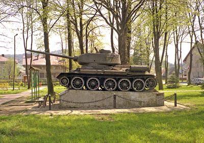 Bevrijdingsmonument (T-34/85 Tank) Baligród