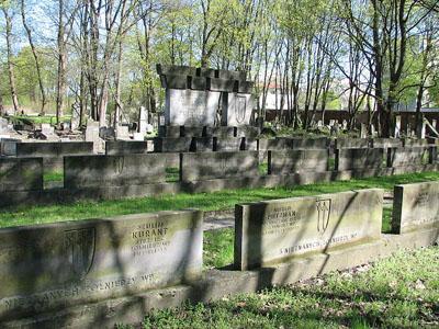 Polish War Graves Jewish Cemetery Warsaw