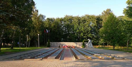 Sovjet Oorlogsbegraafplaats Primorsk