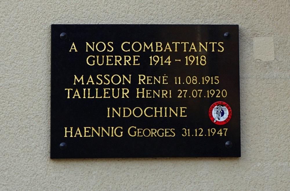 War Memorial Le Val-de-Gouhenans