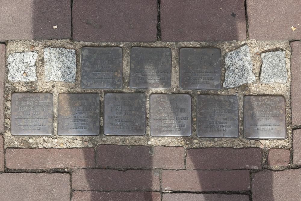 Stumbling Stones Blankenburgerstraat 9