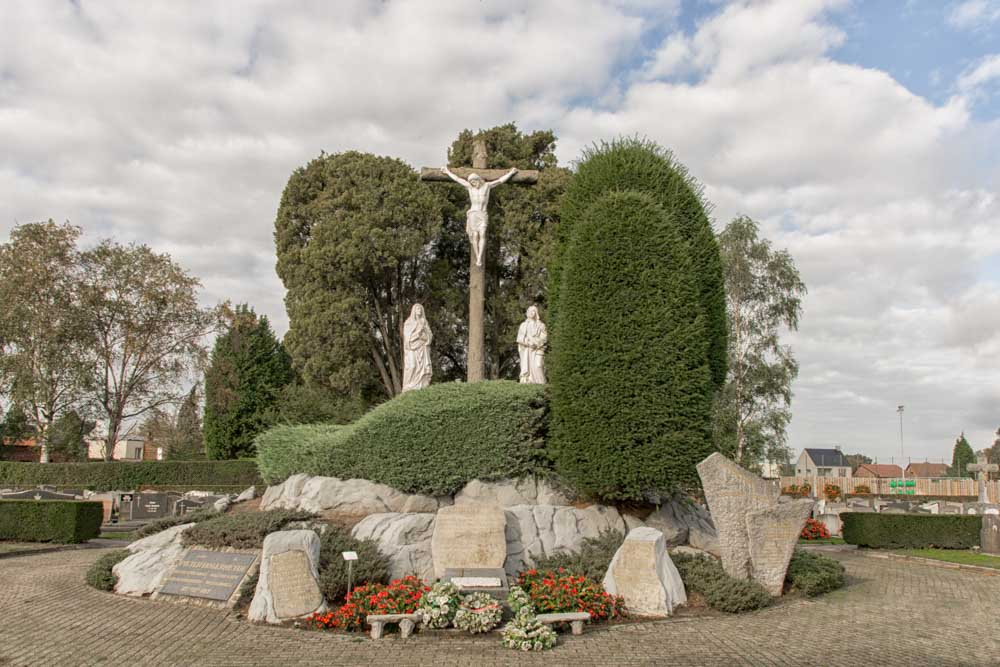 Calvarieberg en Monumenten WOI en WOII