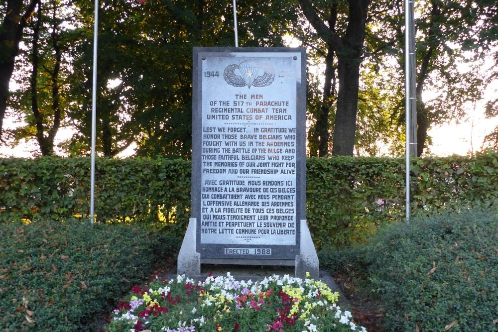 Monument 517th Parachute Regiment Wanne