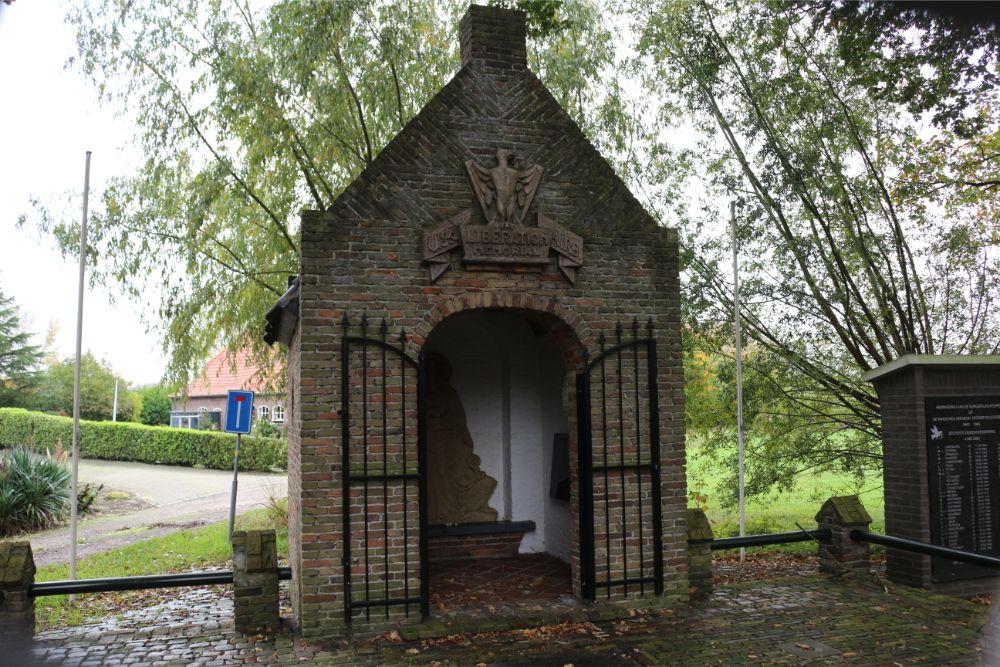 Airborne Monument en Bevrijdingskapel Heeswijk