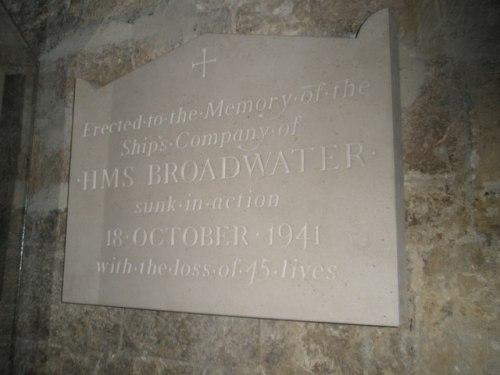 Monument HMS Broadwater