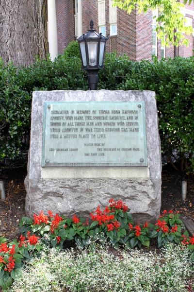 Veterans Memorial Haywood County