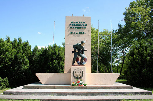 Monument Poolse Mijnenruimers