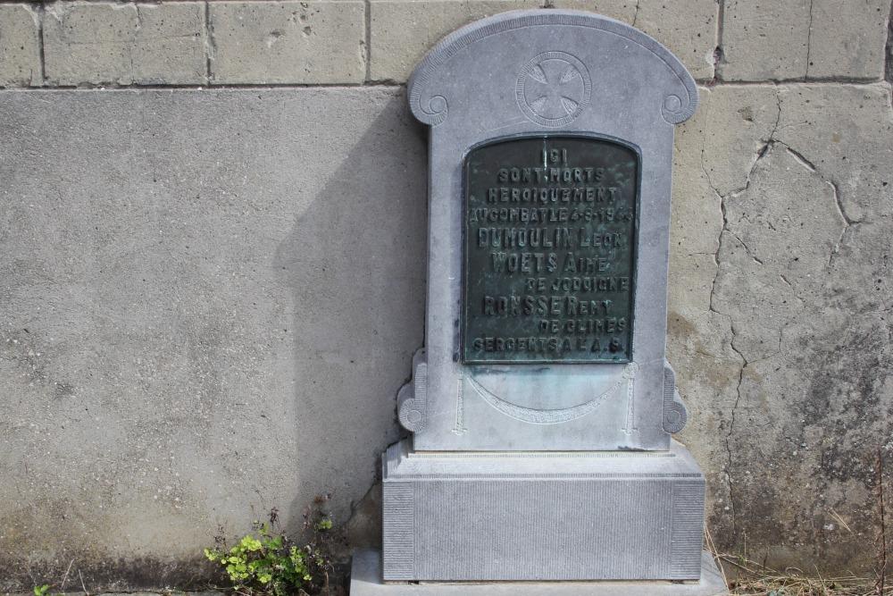 Monument Geëxecuteerde Weerstanders Doiceau