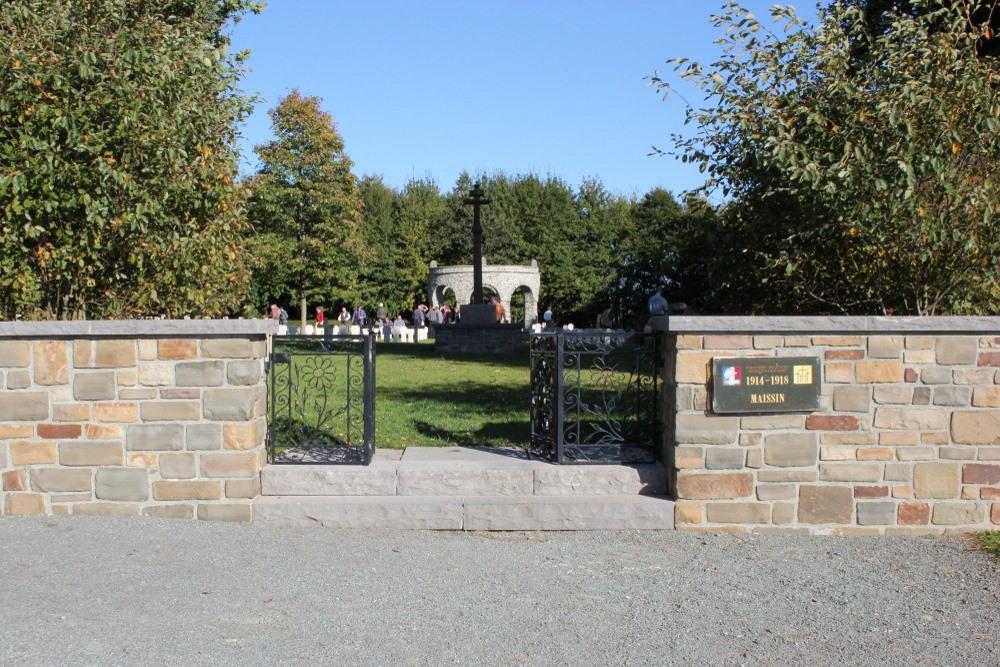 Frans-Duitse Oorlogsbegraafplaats Maissin
