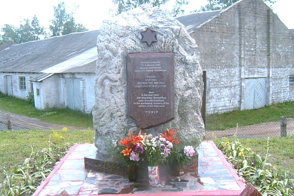 Mass Grave Holocaust Victims Novoyelnya