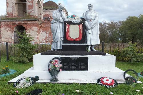 Mass Grave Soviet Soldiers Rozhdestveno