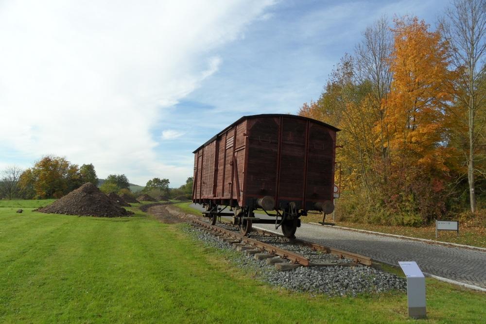 Reichsbahn Wagon Concentration Camp Mittelbau-Dora