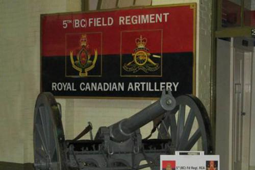 5th (British Columbia) Artillery Regiment Museum