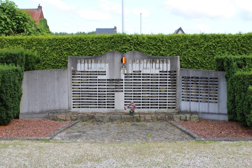 Memorial and Veteran War Cemetery Boortmeerbeek