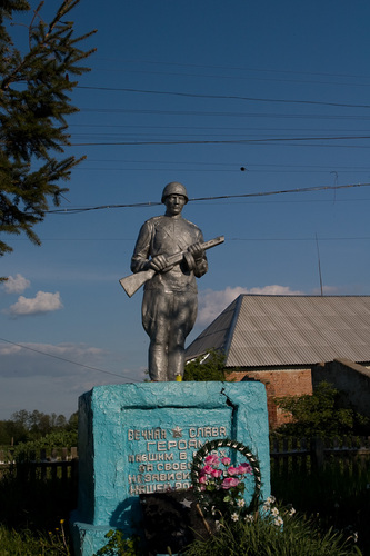 Mass Grave Soviet Soldiers Ostropol