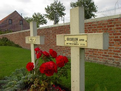 Franse Oorlogsgraven Bus House Cemetery