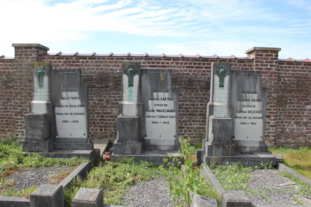 Graven Oudstrijders Gentinnes