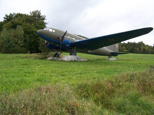 Lisunov Li-2 Transport Airplane Vyšný Komárnik