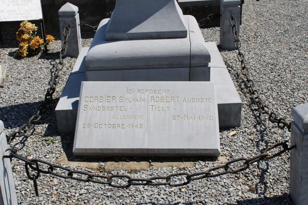 Belgische Oorlogsgraven Vinalmont