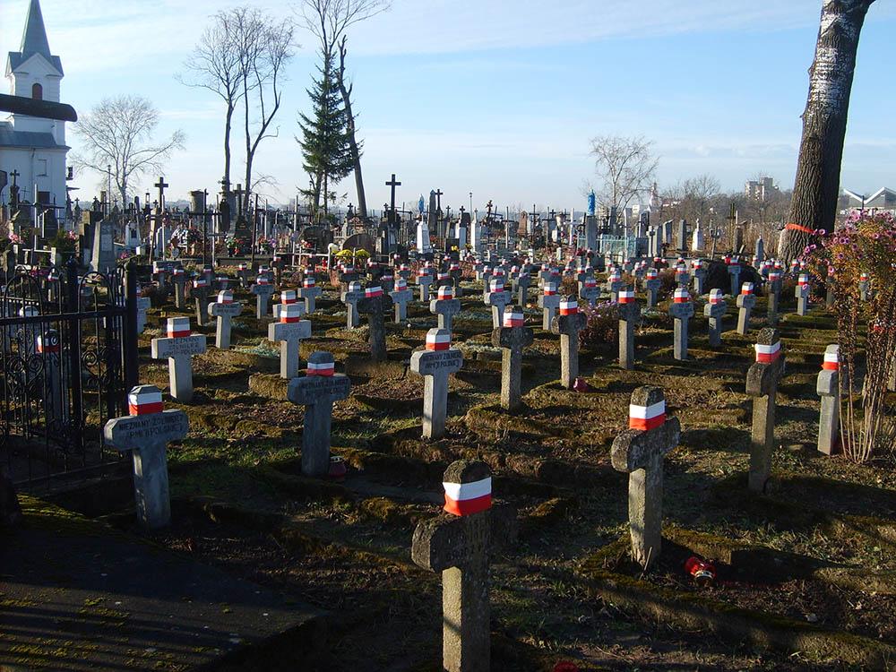 Poolse Oorlogsgraven Katholieke Begraafplaats