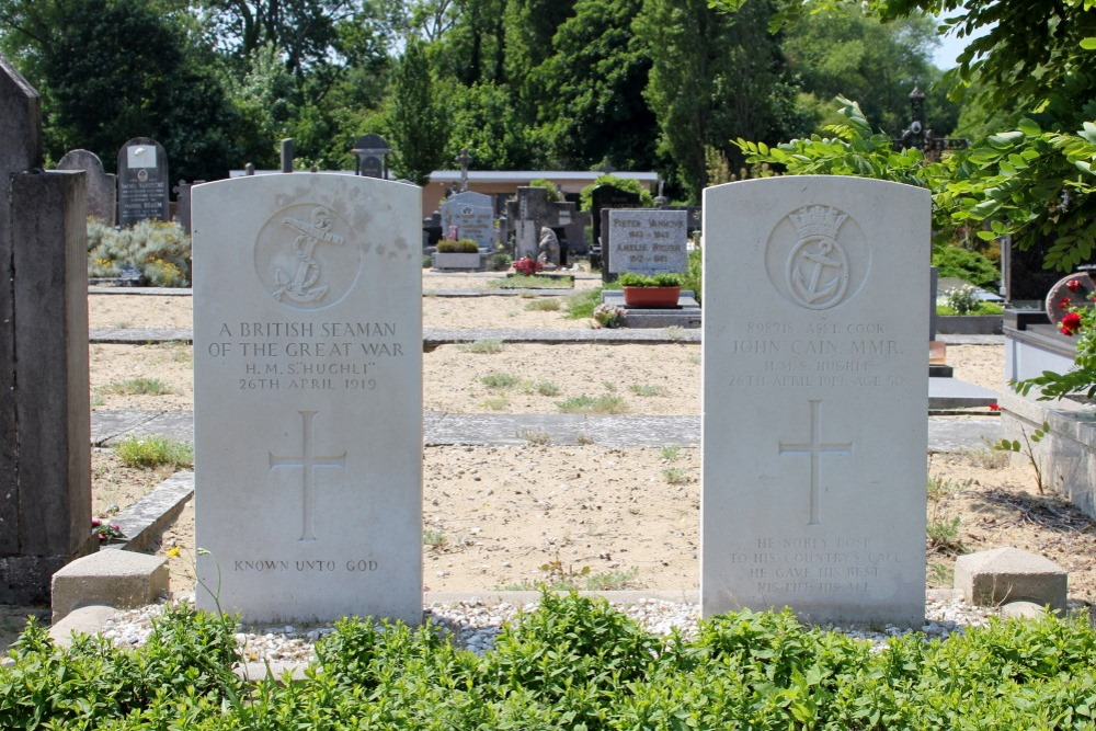 Oorlogsgraven van het Gemenebest De Panne