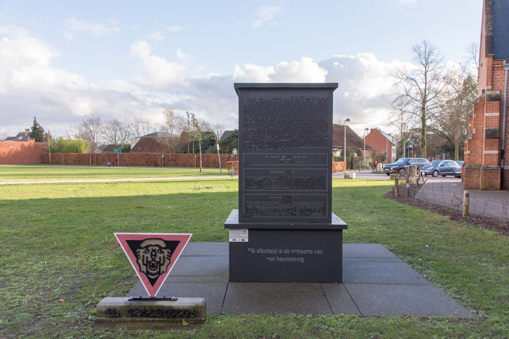 Memorial War Victims and the Secret Army Beerse
