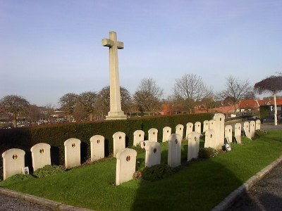 Belgian War Graves Ypres