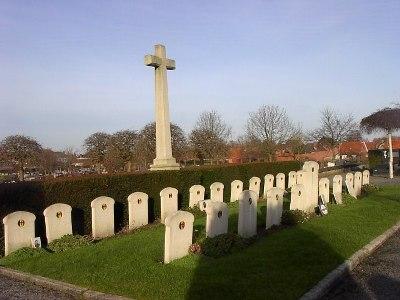 Belgische Oorlogsgraven Ieper
